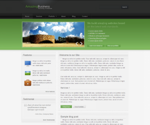 Amazing Business  Css3Template Downloads: 5