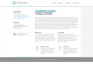 Corporate Buisness Css3 Template Downloads: 162