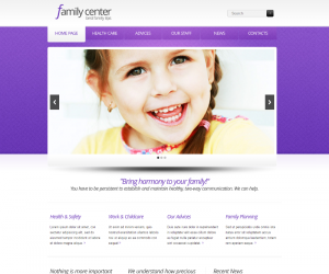 Family Center  Css3Template Downloads: 74