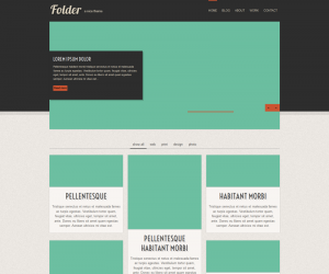 Folder Responsive Css3 Template Downloads: 6391