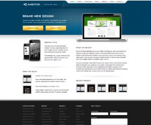 Ambition  Css3Template Downloads: 27