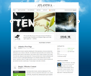 Atlantica Css3 Template Downloads: 160