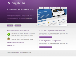Brightcube  Css3Template Downloads: 62