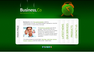 Business Co Css3 Template Downloads: 4443
