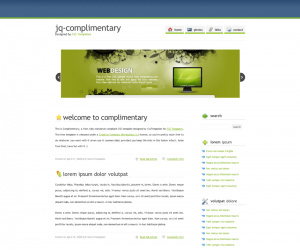 Complimentary Css3 Template Downloads: 823