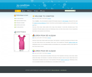 Condition Css3 Template Downloads: 869