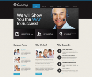 Consulting Css3 Template Downloads: 5639