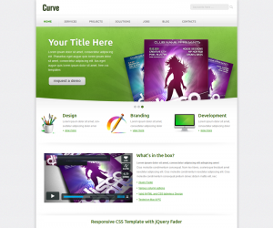 Curvee Css3 Template Downloads: 5465