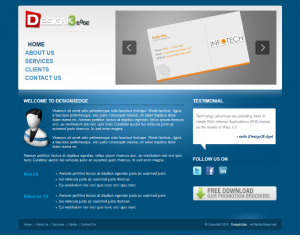 Design Edge  Css3Template Downloads: 439
