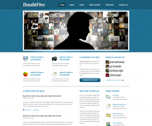 Doubtfire  Css3Template Downloads: 82