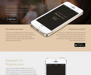 Golden Gate  Css3Template Downloads: 36