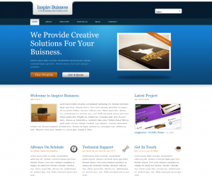 Inspire Buisness Css3 Template Downloads: 269