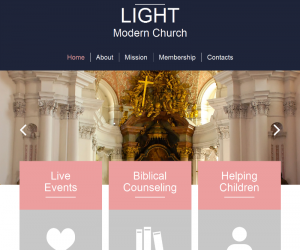 Light Css3 Template Downloads: 529