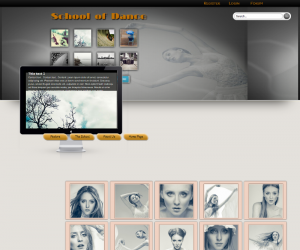 School Of Dance Css3 Template Downloads: 169