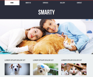 Smary  Css3Template Downloads: 30