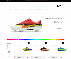 Spike Shoes  Css3Template Downloads: 20