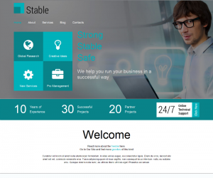 Strong Stable Safe  Css3Template Downloads: 24