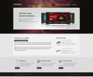Ultimate Clean  Css3Template Downloads: 81