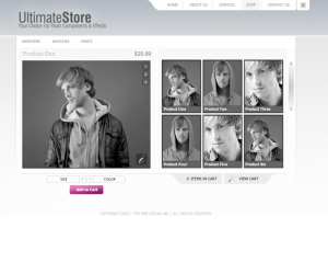 Ultimates Store Css3 Template Downloads: 285